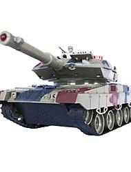 mando a distancia contra los tanques, el juguete modelo de tanque chico desfile militar - alemán Leopard 2 solo