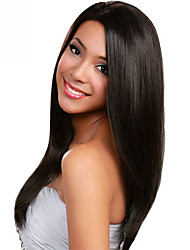 In Stock 10-30inch Silk Straight With Baby Hair Lace Front Wigs 100% Brazilian Virgin Human Hair U Part Wig For Women