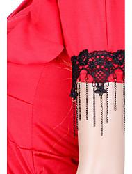 Bijoux de Corps/Chaîne de Corps Bracelet de Bras Dentelle Sexy Noir 1pc