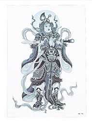 8pcs Tätowierung wasserdichte männliche weibliche Farbe Person Frauen Körperkunst Farbe temporäre allgemeine Marshal Design Tattoo