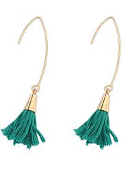 Bohemian Fashion Hook Tassel Earrings Bridal Accessories