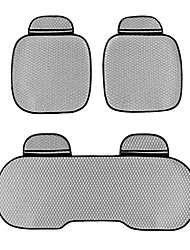Universal Fit for Car, Truck, Suv, or Van Flat Cloth Car Seat Cushion 3 pieces Gray