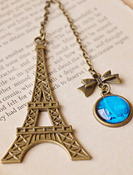 1PC Arrival Vintage Eiffel Tower Metal Bookmarks For Book Creative Item Kids Gift Korean Stationery