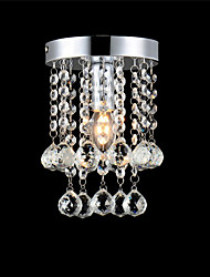 Flush Mount Modern Led Ceiling Lamp Luxury Crystal Living Room Foyer Light Home Lighting Restaurant Entry Hallway