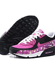 Sapatos Corrida Feminino Roxo Couro Envernizado / Tule / Tecido