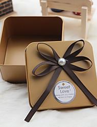 Geschenk Schachteln(Gold / Rot,Metall) -Nicht personalisiert-Hochzeit