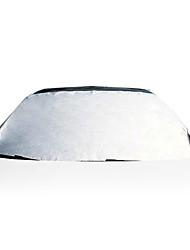 Verão imitação geral folha de alumínio de couro guarda-sol guarda-sol pára-brisa dianteiro protetor solar
