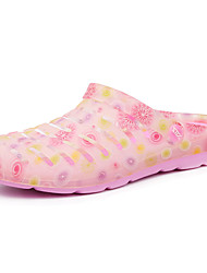 Women's Shoes PU Flat Heel Slippers Slippers Casual Pink