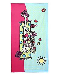 100% полиэстер-75*150cm-Жаккард-Пляжное полотенце