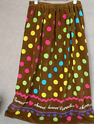 Well Designed Pattern Full Cotton Bath Towel Skirt