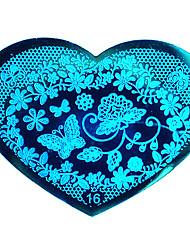 Bluezoo amor azul Sellado del clavo (16)
