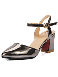 Women's Shoes Chunky Heel Pointed Toe Ankle Strap Pumps Shoes More Colors Available