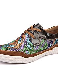 1 # / 2 # Мужская обувь Для офиса / На каждый день Кожа Лоферы