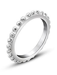 Ringe Modisch Alltag Schmuck Bandringe 1 Stück,Eine Größe Silber