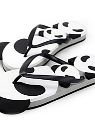 Men's Summer Flip Flops Synthetic Casual White