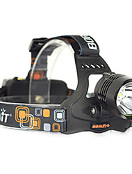 BORUIT 2500LM XM-L2 LED 18650 Headlight Headlamp Head Torch USB Lamp