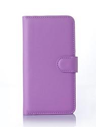 PU portefeuille en cuir porte-téléphone en relief pour nokia lumia 532