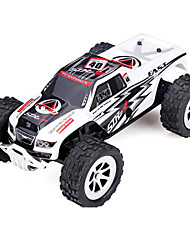 Car WLToys A999 1:24 RC Car 25KM/H 2.4G White Ready-To-GoRemote Control Car / Remote Controller/Transmitter / Battery Charger / User