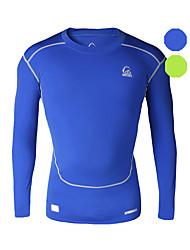 Vansydical Homens Isolado Fitness tops Verde / Azul