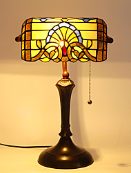 Bank Light,Tiffany Designed Table Lamps with 1 Light
