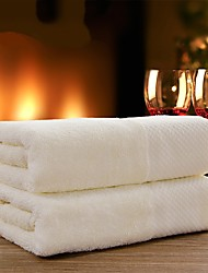 "5pc Pack Luxury Beige Full Cotton Bath Towel Super Soft 13.7"" by 29.5"""