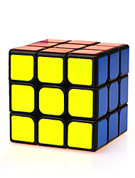 Yongjun® Гладкая Speed Cube 3*3*3 Скорость Кубики-головоломки черный увядает ABS