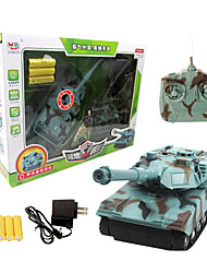 22719 Remote Control Tank Four-Channel Electric Simulation of Tank Car Remote Control Roy 0.9 Children