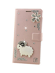 Pour Coque iPhone 7 / Coques iPhone 7 Plus / Coque iPhone 6 / Coques iPhone 6 Plus / Coque iPhone 5 Avec Support / Clapet CoqueCoque