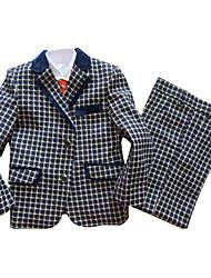 Polester/Cotton Blend Ring Bearer Suit - 3 Pieces Includes  Jacket / Vest / Pants