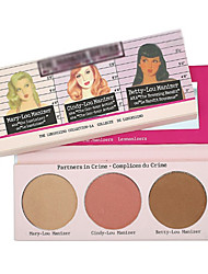 3 Pressed Powder Dry / Matte PowderVolumized / Sun Protection / Coverage / Long Lasting / Concealer / Uneven Skin Tone / Natural / Fast