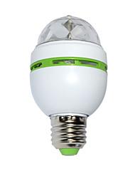 3W Lumini LED Scenă 100 lm RGB SMD Activare-Sunet AC 85-265 V 1 piese