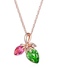Necklace Pendant Necklaces Jewelry Wedding / Party / Daily / Casual Fashion Rose Gold 1pc Gift