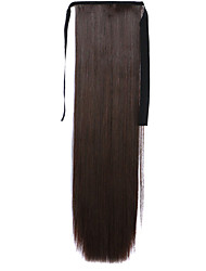 Fuxia Straight Blending Long Straight Hair Wig Ponytails 4A/33