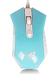 loup de guerre 2400dpi jeu de souris filaire 6d pour lol / cf / DOTA