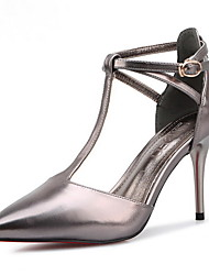 Women's Spring / Fall / Winter Heels / Pointed Toe / Closed Toe Leather Wedding / Casual / Dress Stiletto Heel Others Multi-color