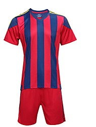 Kid's Soccer Shirt+Shorts Clothing Sets/Suits Breathable Quick Dry Spring Summer Fall/Autumn Winter Stripe TeryleneExercise & Fitness