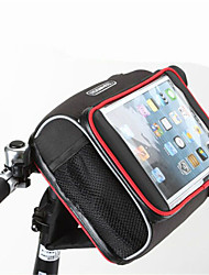 ROSWHEEL® Bike BagBike Handlebar Bag / Shoulder Bag Waterproof Zipper / Moistureproof / Shockproof / Wearable Bicycle BagPU Leather /