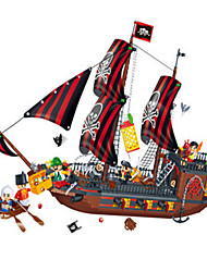 Simulation Toy Pirate Ship