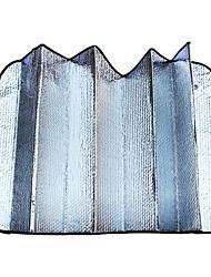 dobrar bolha de prata frente e verso de algodão dianteira do carro tampa traseira pára-140 * 70 centímetros
