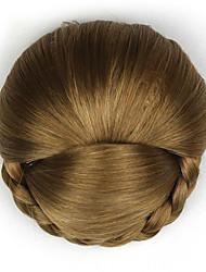 Kinky фигурная золота моды человеческих волос монолитным парики шиньоны 2005