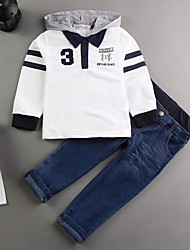 Boy's Cotton Jeans / Clothing Set,Spring / Fall Patchwork