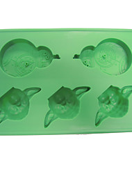 Star Wars Yoda Ice Mould Silicone Ice Tray Mold Chocolate Moulds
