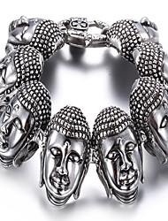 kalen®bracelet charme pulseira de forma animal de partido / dia / ocasional dom jóia de prata, 1 peça