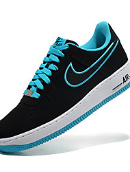 Nike Air Force 1 Round Toe / Sneakers / Running Shoes / Casual Shoes / Skateboarding Shoes Men's Wearproof Low-TopGray / Black / Blue /