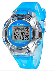 SYNOKE Kids' Sport Watch Wrist watch Digital Watch Digital LCD Calendar Chronograph Water Resistant / Water Proof Alarm Luminous Plastic