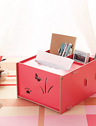 Wood Cosmetic Storage Box DIY Tissue Box