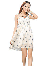 2016 Summer Women's Bohemian Beach Floral Dress