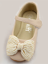 Flats Spring Fall Comfort Light Up Shoes Microfibre Outdoor Flat Heel Black Pink Ivory