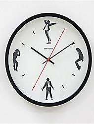 Outros Moderno/Contemporâneo Relógio de parede,Outros Metal 34*34*8