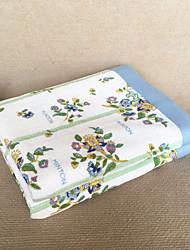 """Tricoté Multicolore,Imprimé Floral / Botanique 100% Coton couvertures W59""""×L79""""(W150 x L200cm)"""